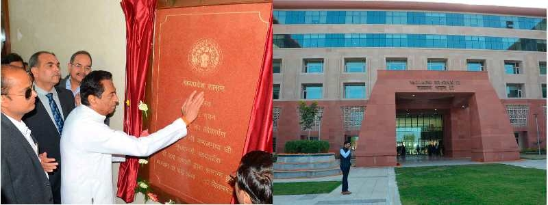 CM Kamal Nath dedicates newly constructed Annexe of Mantralaya