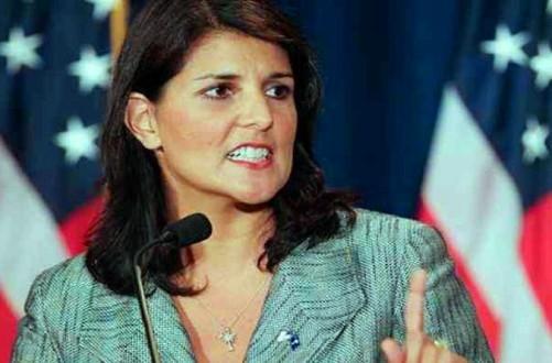 Nikki Haley gets slammed for hostility towards Palestine