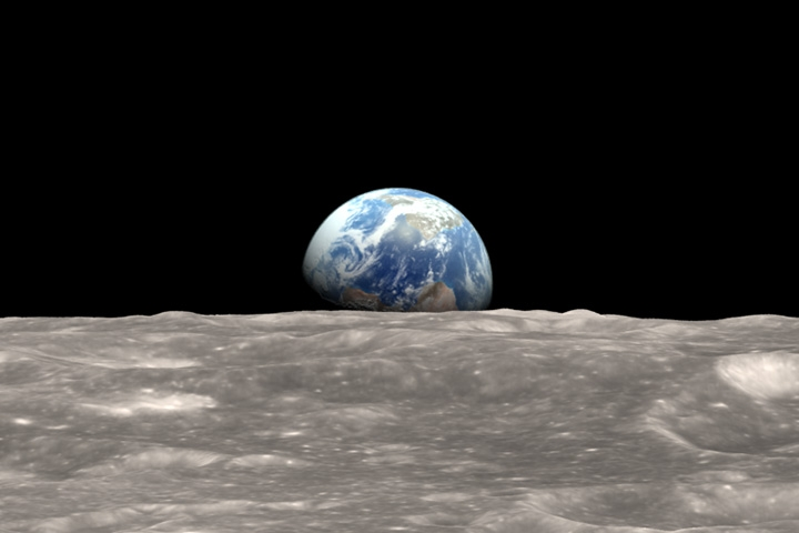 The iconic 'Earthrise' was taken 50 years during this time