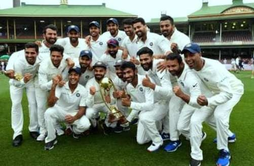 India beats Australia in Sydney Test and wins first ever Test series in Australia