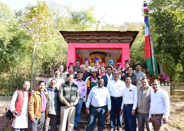 IGRMS, Bhopal organized the Losar Festival