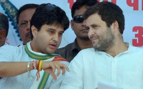 Rahul Gandhi expresses 'trust' on Jyotiraditya Scindia again