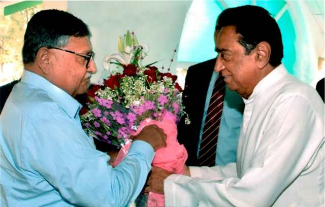CM Kamal Nath pays courtesy visit to MP High Court Chief Justice