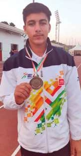 Sports Academy's Player Ikram Ali bags Gold Medal