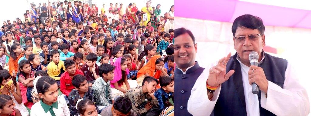 Minister Sharma attends 'Jeevan ki Paathshala' programme