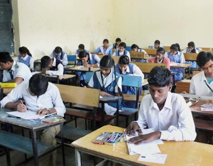 12th Class question papers for 9th students?