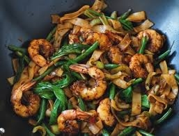 King Prawns and Baby Spinach