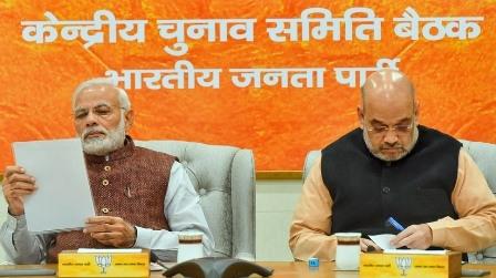 लोकसभा चुनाव के लिए भाजपा ने मध्य प्रदेश की कई सीटों पर बनाया 'पैनल'