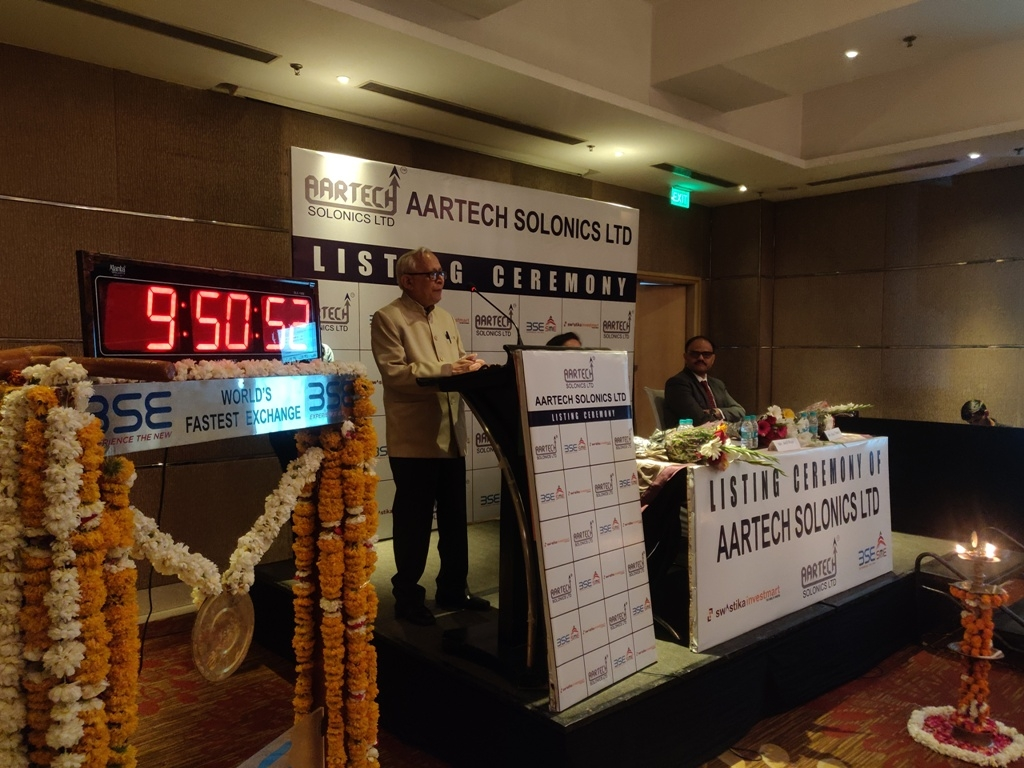AARTECH's IPO listing ceremony held at Marriot Bhopal