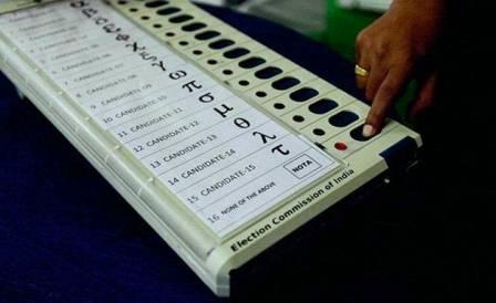एक ईवीएम में अधिकतम 3,840 वोट डाले जा सकते हैं
