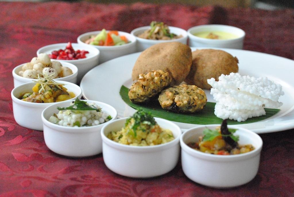 Bay-Leaf Multi-Cuisine Restaurant of Courtyard by Marriott ready to serve special menu for Navratri Festival