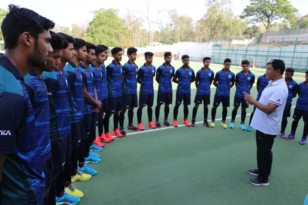 MP State Hockey Academy men's Under-16 team departs to Netherlands for Holland Elite Hockey Tournament