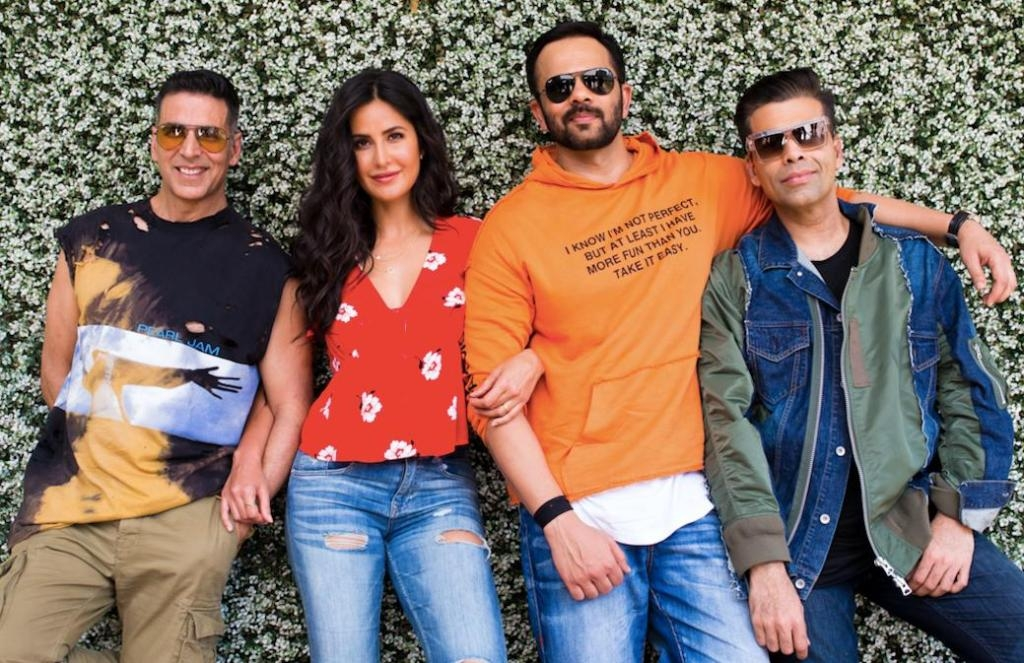 Akshay welcomes Katrina Kaif in COP squad of Rohit shetty's 'Sooryavanshi'