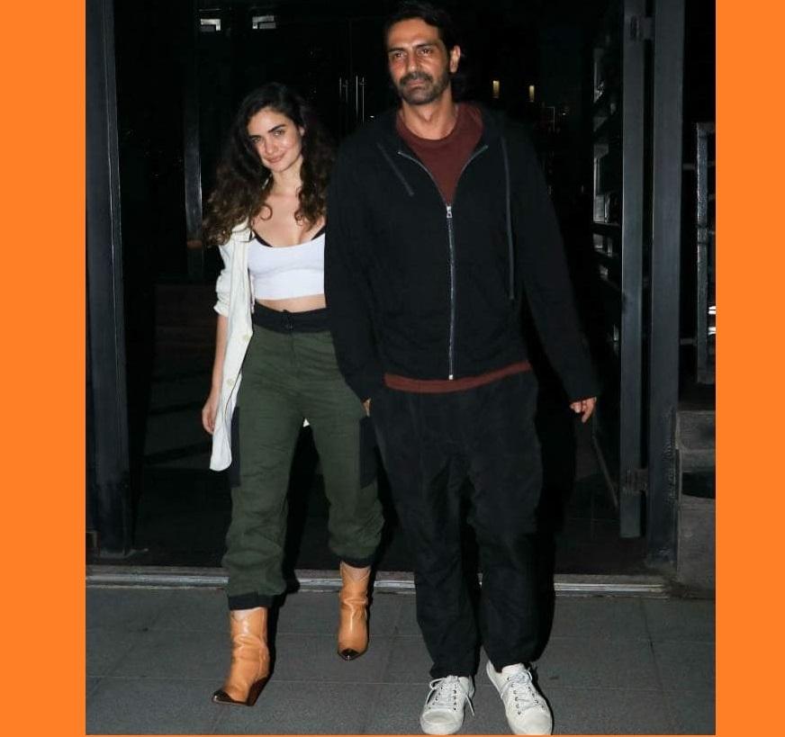 Arjun Rampal confirms GF Gabriella's pregnancy