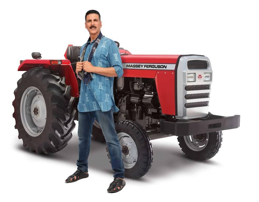 Akshay Kumar signs as brand ambassador for Massey Ferguson tractors