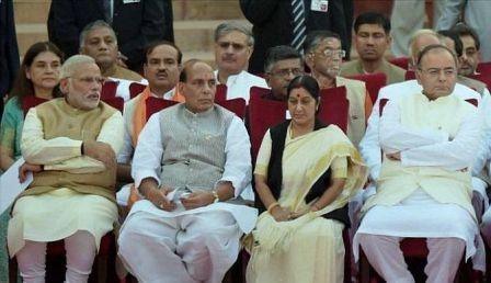 कौन होंगे मोदी के पांच प्रमुख मंत्री?