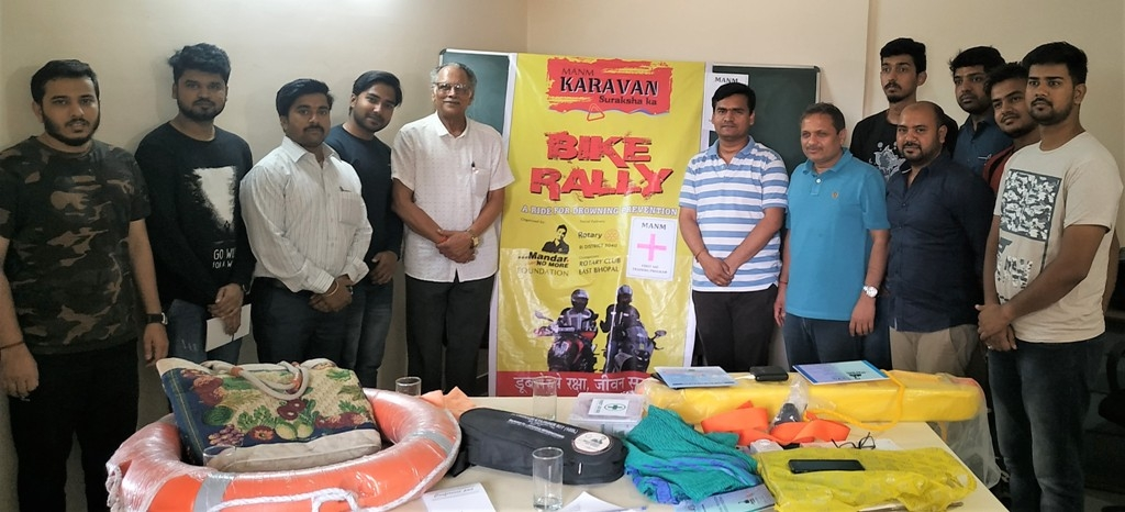 MANM Foundation organises first aid training program for bikers to Spiti Valley