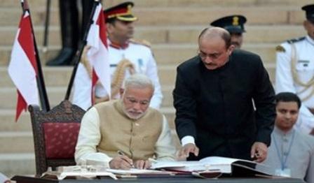 शपथ ग्रहण में नरेन्द्र मोदी की 'प्रतीकात्मक कूटनीति'!