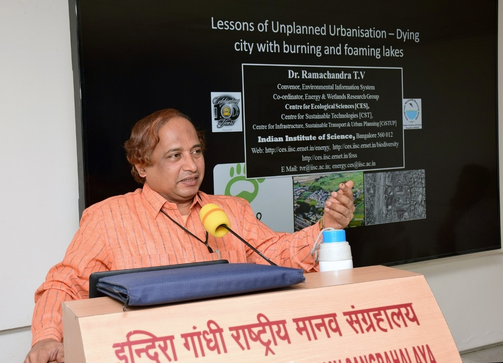 No compromise is possible with greenery and water source - Prof. Ramchandra
