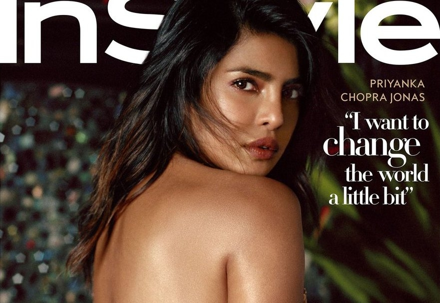 Priyanka Blouse-Less shoot sensationalise but fans declare it vulgar act