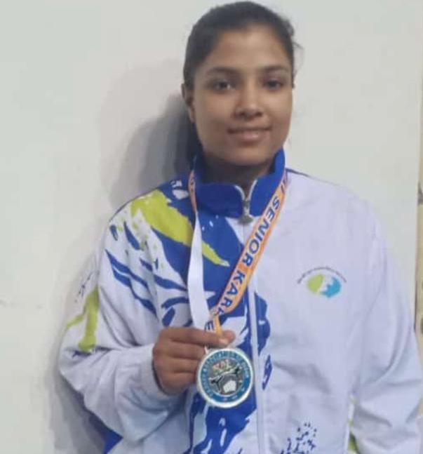 Shivani Karale and Supriya Jatav won two silver medals for MP