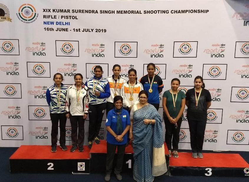 शूटिंग अकादमी के रायफल और पिस्टल खिलाड़ियों ने मध्य प्रदेश को दिलाए दो रजत पदक
