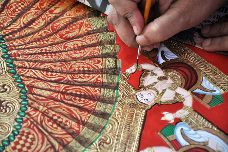 Mysore painting workshop starts at IGRMS
