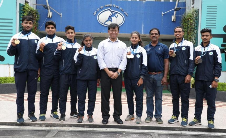 Sailing Academy players won seven medals in Hyderabad Sailing Championship -2019