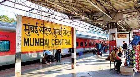 Bhopal railway station is the junction; Chhatrapati Shivaji station of Mumbai is the terminus!