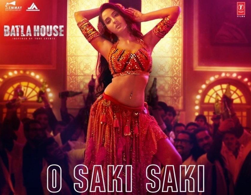 Nora Fatehi ready to set fire on stage with 'O Saki Saki'
