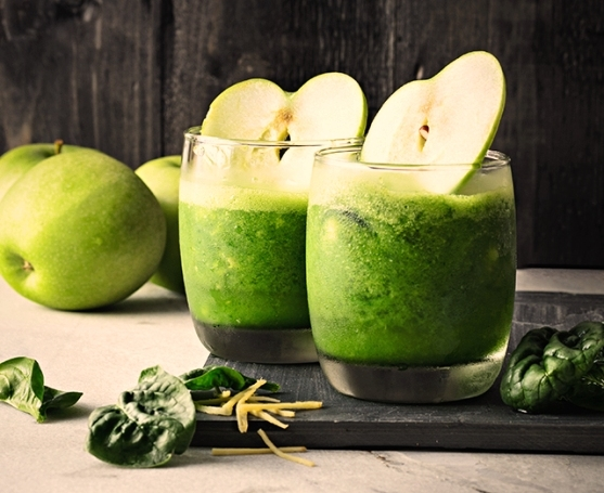 Healthy Spinach-Apple Juice