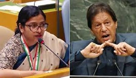 A junior IFS officer Vidisha Maitra reminds Imran Khan of his capability