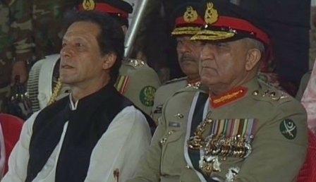 General Bajwa looks upset with Imran Khan's policies