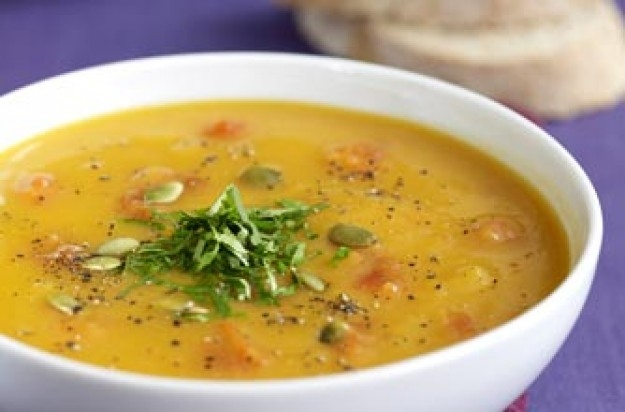 Pumpkin and pepper soup