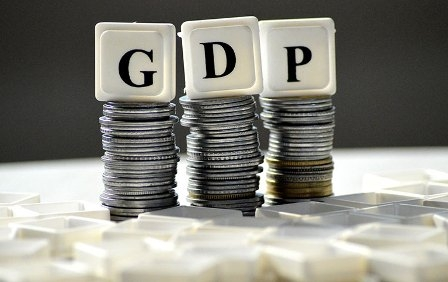 Many financial institutions including the World Bank estimated India's GDP growth rate low