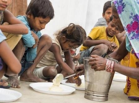 भारत में कुपोषण और भुखमरी पहुंची चिंताजनक स्तर पर