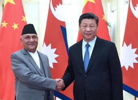 China in an attempt to 'surround' India through Nepal