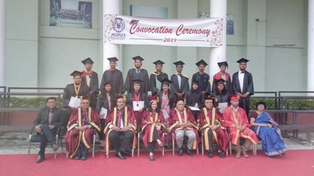 Convocation ceremony held at People's University