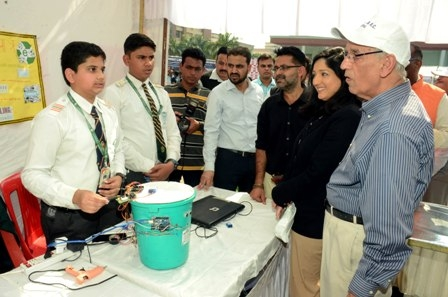 Science Fair and Model Competition organized at the People's University