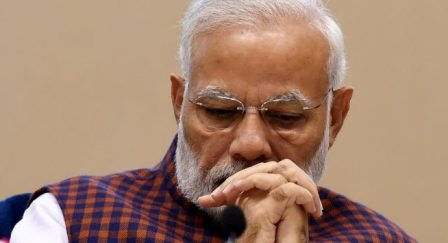 The weak economy becomes a challenge for the Modi government