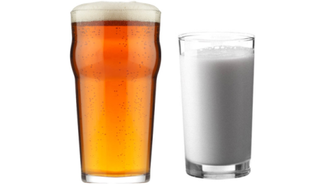 Controversy over a PETA claim, tells beer seems healthier than milk