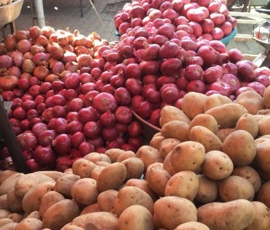 …So now potatoes, onions and tomatoes to be sold at government ration shops