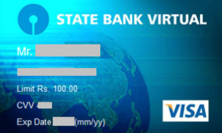 Know how to create a virtual card of SBI?