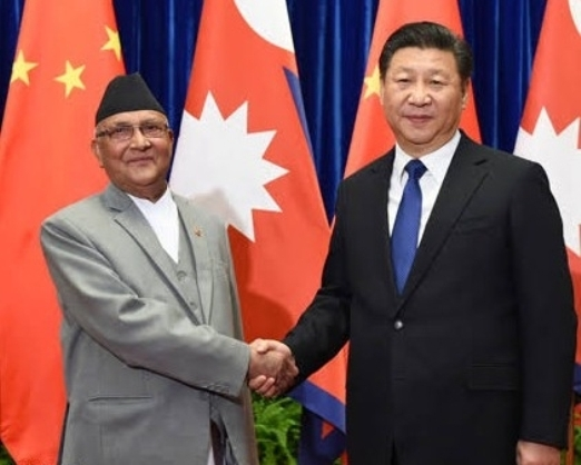 Oli worsening relations between Nepal and India on the 'instigation' of China