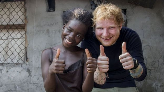 ​Despite miseries being positive is overwhelming -  E D Sheeran!
