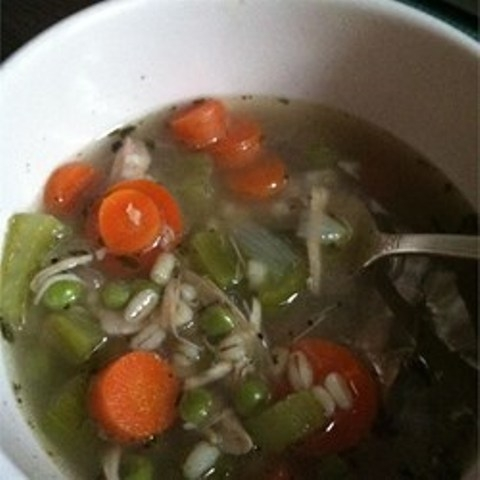 Hearty Barley Turkey Soup
