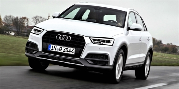 The new Audi Q3 1.4 TFSI debuts in India