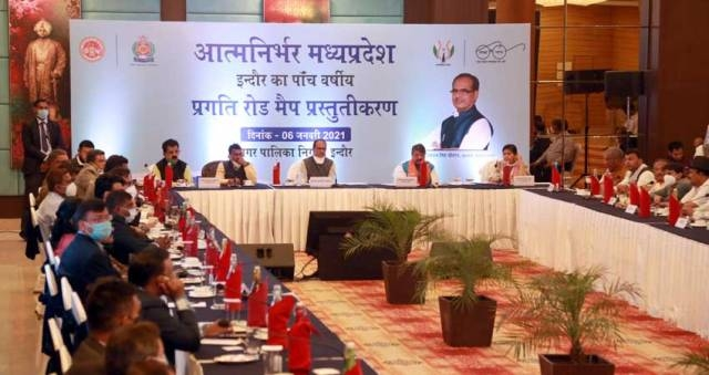 Indore will be developed as an ideal city in every field including cleanliness