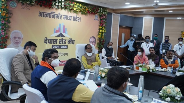 Add grandeur to cities along with work and basic amenities – CM Chouhan 718 hectare industrial town to be developed