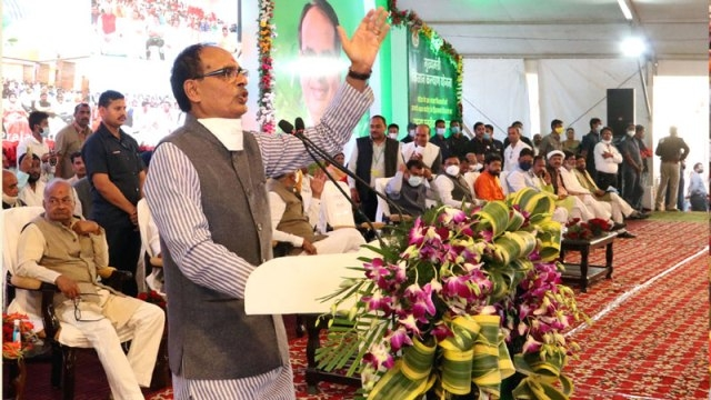 CM Chouhan transfers Rs 400 crores to the accounts of 20 lakh farmers